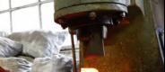 Индукционный нагрев перед ковкой